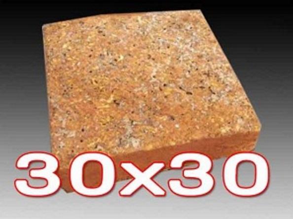 หินศิลาแลงเหลี่ยม ขนาด 30x30 ซม.
