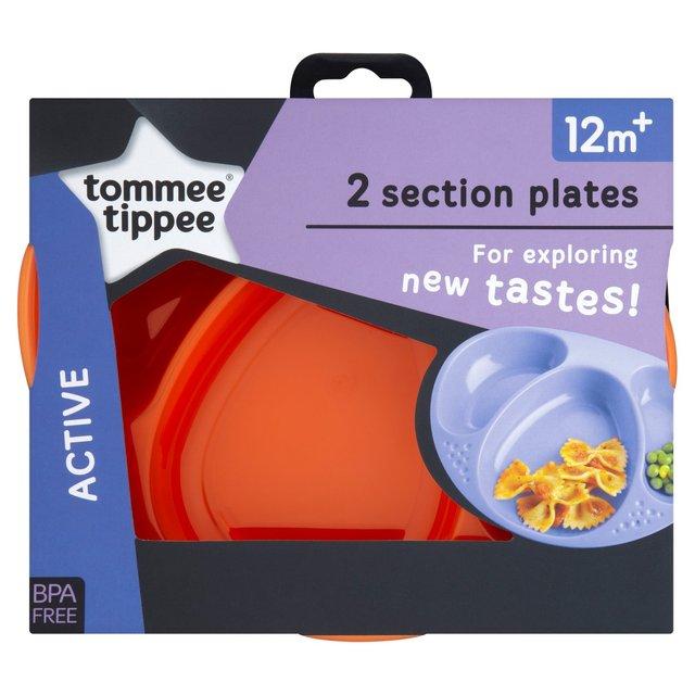 tommee tippee ชามหลุม 2 ใบ BPA free