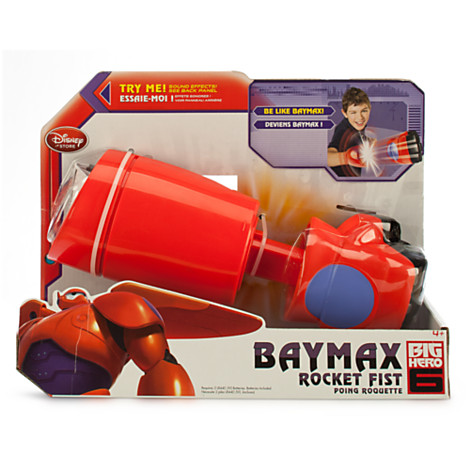 z Baymax Mech Rocket Fist - Big Hero 6