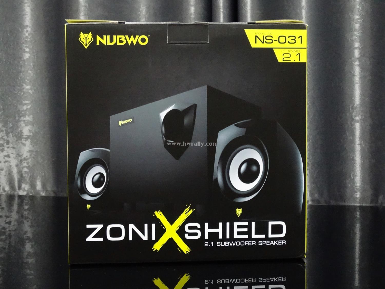 Nubwo NS-031 ZONI XShield Sub Woofer Speaker 2.1