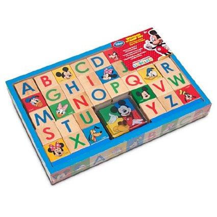 ฮ Mickey Mouse Clubhouse Wooden Stamp Set(พร้อมส่ง)