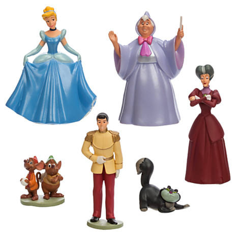 z Cinderella Figure Play Set