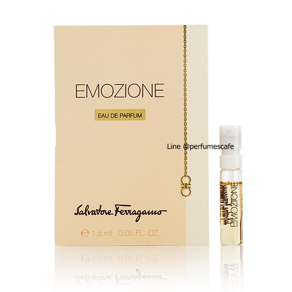 น้ำหอม Salvatore Ferragamo Emozione Eau de Parfum for women ขนาด 1.5ml