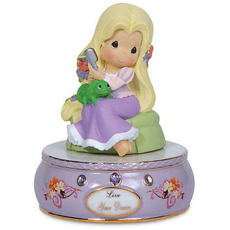 Z ''Live Your Dream'' Musical Rapunzel Figurine by Precious Moments