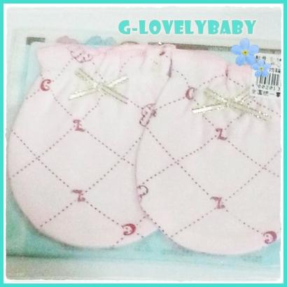 ถุงมือเด็ก ถุงมือเด็กอ่อน ถุงมือเด็กแรกเกิด ถุงมือเด็กผ้าคอตตอน ถุงมือเด็ก ขนาด 0-6 เดือน No.02
