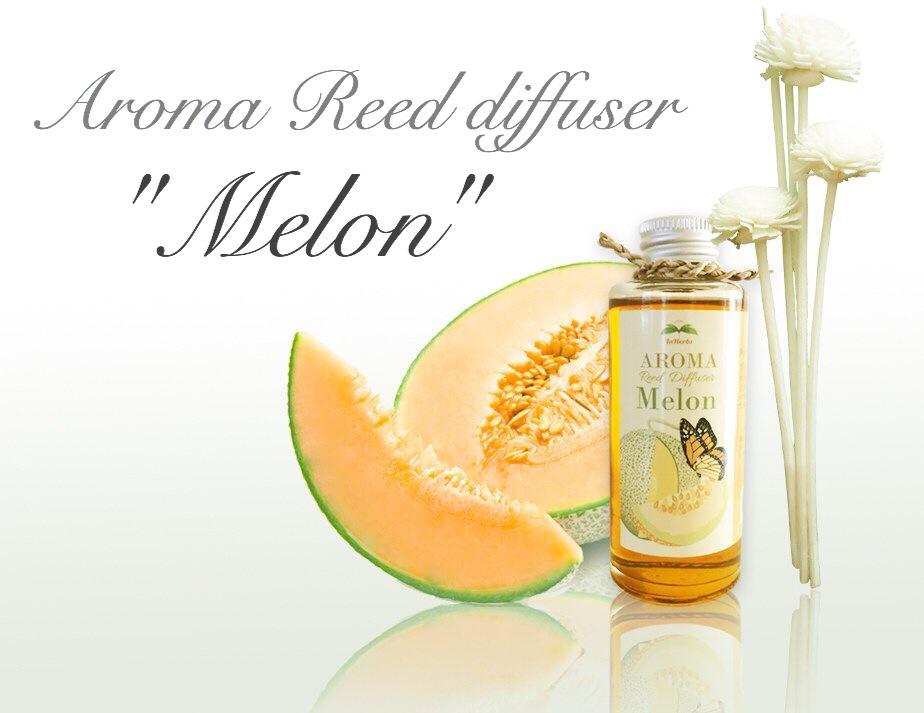 """MELON"" Aroma Reed Diffuser / น้ำมันหอมระเหยปรับอากาศ กลิ่นเมล่อน"