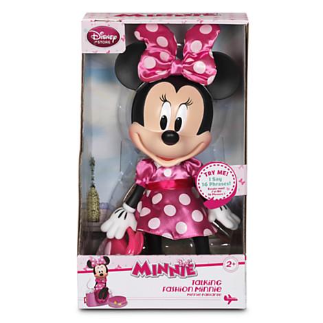 z Disney Minnie Mouse Talking Fashion Figure - 13'' มินนี่เม้าส์ แฟชั่น แต่งตัวสวย หิ้วกระเป๋า พูดได้ (พร้อมส่ง)
