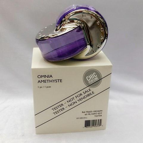 น้ำหอม Bvlgari Omnia Amethyste EDT 65ml ( มีกล่อง )