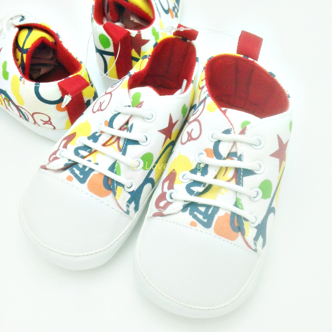 Pre-walker Baby Shoes รองเท้าเด็ก รองเท้าเด็กหญิง รองเท้าเด็กชาย รองเท้าเด็กวัยหัดเดิน size 4 (18-24m)