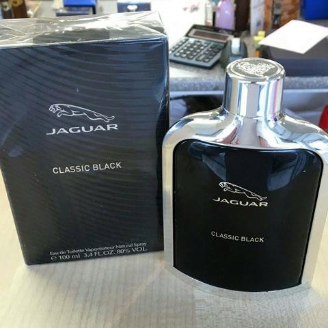 น้ำหอม Jaguar Classic Black For Men EDT 100 ml. (มีกล่อง)