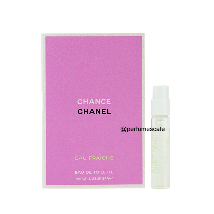 น้ำหอม Chanel Chance Eau Fraiche EDT ขนาด 2 ml แบบสเปรย์