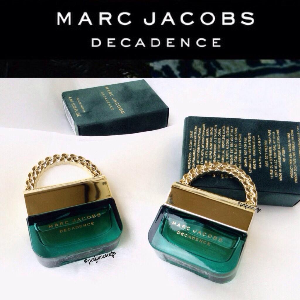 Marc Jacobs Decadence Eau de Parfum ขนาด 4ml แบบแต้ม