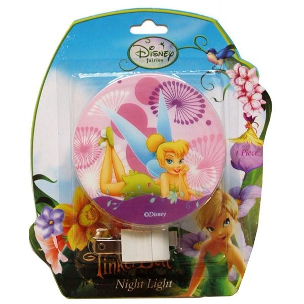 Disney Fairies TinkerBell Purple Night Light (พร้อมส่ง) ของแท้ นำเข้าจากอเมริกา