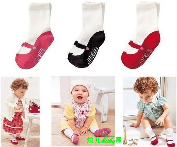 ถุงเท้าเด็กอ่อน คุณภาพดี ถุงเท้าเด็ก ถุงเท้าเด็กกันลื่น พร้อมส่ง เด็กอายุ 0-1 ขวบ