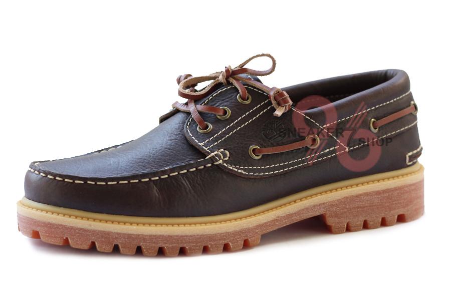 รองเท้าหนัง Men's Earthkeepers Timberland 3-Eye Boat Size 40 - 44 พร้อมกล่อง
