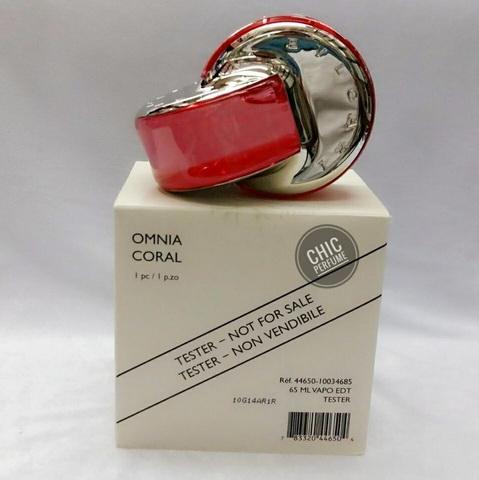 น้ำหอม Bvlgari Omnia Coral EDT 65 ml. ( มีกล่อง )