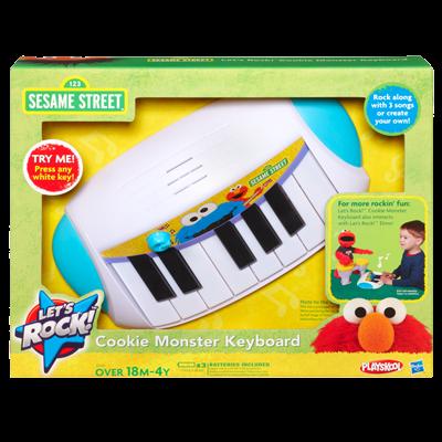 Sesame Street Let's Rock Cookie Monster Keyboard playskool ของแท้ นำเข้าจากอเมริกา
