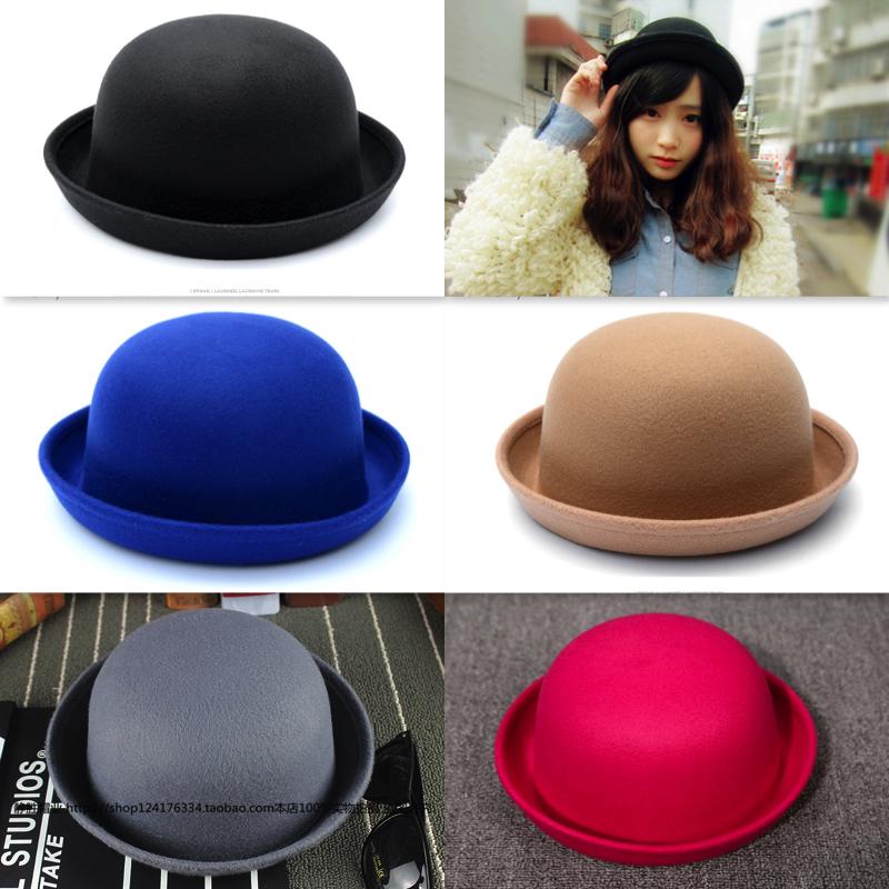 [พร้อมส่ง] หมวกชาลี : ผ้าสักหลาด ทรงกลม