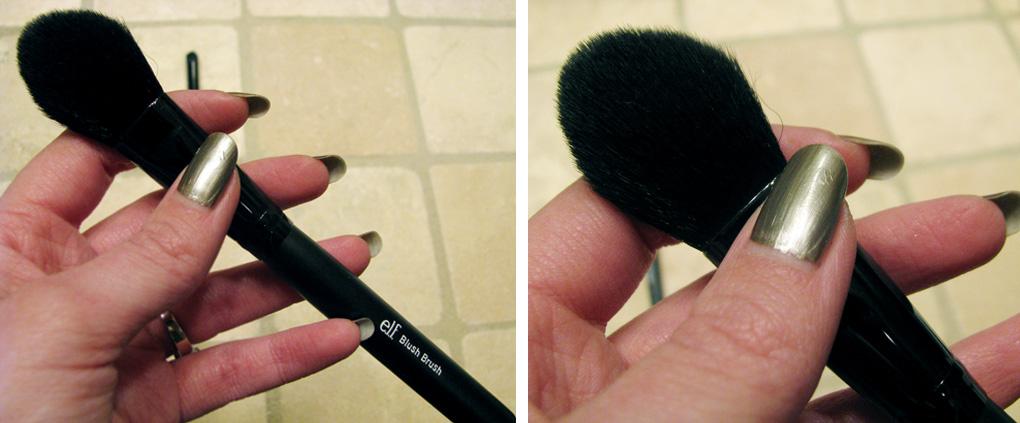 **พร้อมส่ง + ซื้อ 1 แถม 1 ** e.l.f. Studio Blush Brush No.11 แปรงปัดแก้ม