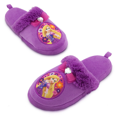ฮ Rapunzel slippers for girls(size 11/12) (พร้อมส่ง)