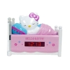 z Sleeping Hello Kitty Alarm Clock Radio with Night Light