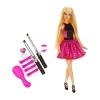 z Barbie Endless Curls Doll ของแท้100% นำเข้าจากอเมริกา ตุ๊กตาบาร์บี้ เซ็ตทำผมม้วน ดัด