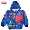 ( Size S-M-L ) เสื้อแจ็คเก็ต Spiderman เสื้อกันหนาว เด็กผู้ชาย สีน้ำเงิน รูดซิป มีหมวก(ฮู้ด) ใส่คลุมกันหนาว กันแดด สุดเท่ห์ ใส่สบาย ลิขสิทธิ์แท้ (ไซส์ S-M-L-XL )