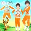 (Size S-M-L) ชุดนอนเด็ก Disney Tigger เสือ ทิกเกอร์ เสื้อแขนยาว กางเกงขายาว สุดเท่ห์ ลิขสิทธิ์แท้ (สำหรับเด็กอายุ 3-8 ปี )