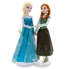Anna and Elsa Ice Skating Doll Set - Frozen - 12'' ของแท้ นำเข้าจากอเมริกา