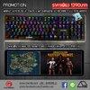 Marvo KG935 Blue Switch Mechanical RGB Keyboard And Macro 👍แถมฟรี!!! ผ้ารองคีย์บอร์ดแบบยาว 👍
