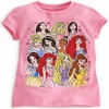 zDisney Princess tee for girls(size 4)(พร้อมส่ง)