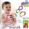 Munchkin ยางกัดบิดได้ Twisty Figure 8 Teether Toy BPA Free ของเเท้ นำเข้าจาก อังกฤษ น้อง 6 เดือน+