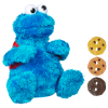 z Sesame Street Count and Crunch Cookie Monster Plush Habro