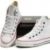 รองเท้าหนัง Converse หนังขาว หุ้มข้อ ผู้ชาย ผู้หญิง Shoes Size 37-44 พร้อมกล่อง