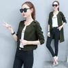 [พร้อมส่ง] เสื้อแจ็คเก็ต 2in1 สามารถใส่ได้ทั้งแบบยาวและสั้น มีสีเขียวทหาร/ชมพู/ครีม