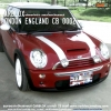 MINI COOPER & CB 0002 LONDON ENGLAND .(ลายธงชาติ FLAG.)