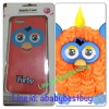 ZFB029 Furby Case iPhone5 Orangutan สีส้มหูฟ้า