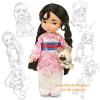 z Disney Animators' Collection Mulan Doll - 16'' (พร้อมส่ง)