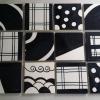 Black & White Paint Tiles
