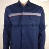 รหัส 1.5 (เสื้อช็อปแขนยาว ผ้าเวสป้อยส์ แบบกรมท่ากุ้นส้ม สะท้อนแสงหน้ายาว)