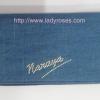 กระเป๋าสตางค์ นารายา ผ้าเดนิม สียีนส์ น้ำเงิน (กระเป๋านารายา กระเป๋าผ้า NaRaYa)