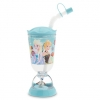 z Frozen Snowglobe Tumbler with Straw