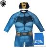 ฮ(สำหรับเด็กอายุ 6เดือน-14 ปี) ชุดว่ายน้ำเด็กผู้ชาย Batman ชุดบอดี้สูทเสื้อแขนยาวกางเกงขาสั้นซิบหน้า สีน้ำเงิน สกรีนลาย Bat Man มาพร้อมหมวกว่ายน้ำและถุงผ้า สุดเท่ห์ ใส่สบาย ลิขสิทธิ์แท้