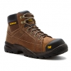 รองเท้า หัวเหล็ก Caterpillar Men's Cat Crossrail ST Dark Beige Leather Steel Toe Size 40-46