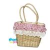 กระเป๋าถือเด็กหญิง งาน Handmade ผักตบชวา