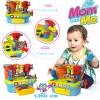 HuiLe Toys ชุดช่างสำหรับเด็กเล็ก มีกิจกรรม 8อย่างตามภาพค่ะ มีไฟ มีเสียง สอนนับเลข มีเสียงเครื่องมือช่าง เสียงสว่าน เสียงเลื่อย เเละยังมีเสียงพูด สำหรับ น้อง 18 เดือน +