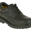 รองเท้า หัวเหล็ก CATERPILLAR Ridgemont Steel Toe Mens Black Work Shoe ดำ รองเท้าเซฟตี้ หัวเหล็ก size 40-45