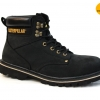 """รองเท้า CATERPILLAR CAT SECOND SHIFT 6"""" STEEL TOE ดำ หนังชามัวร์ รองเท้าเซฟตี้ หัวเหล็ก size 40-45 สินค้าใหม่"""