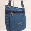 กระเป๋าสะพาย นารายา ผ้าเดนิม ทรงสี่เหลี่ยม สียีนส์ มีโลโก้นารายาด้านหน้า (กระเป๋านารายา กระเป๋าผ้า NaRaYa กระเป๋าแฟชั่น)