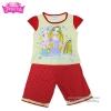 ( S-M-L ) ชุดเด็กน่ารัก ชุดนอนเด็ก Disney Rapuzel เสื้อแขนสั้น กางเกงขาสั้นสีแดงสุดน่ารัก ดิสนีย์แท้ ลิขสิทธิ์แท้ (สำหรับเด็กอายุ 4-8 ปี)
